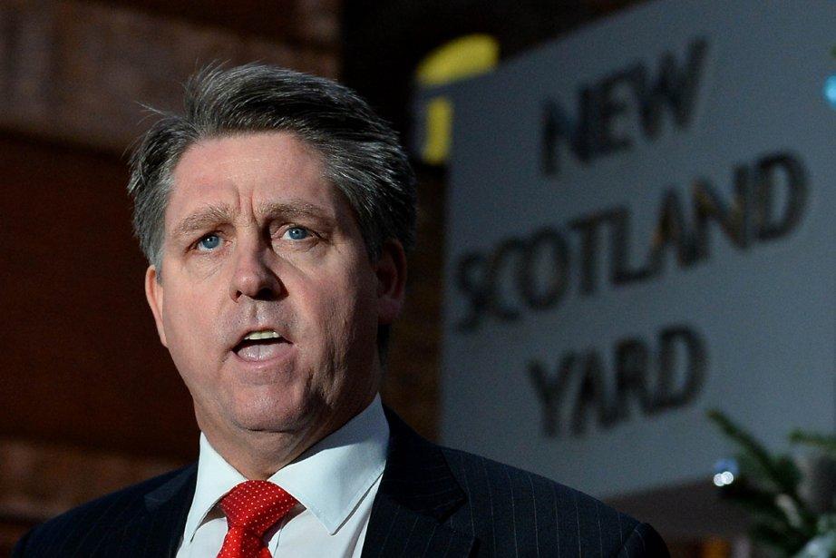 L'inspecteur Kevin Hyland, de l'escouade de traite de... (PHOTO BEN STANSALL, AGENCE FRANCE PRESSE)