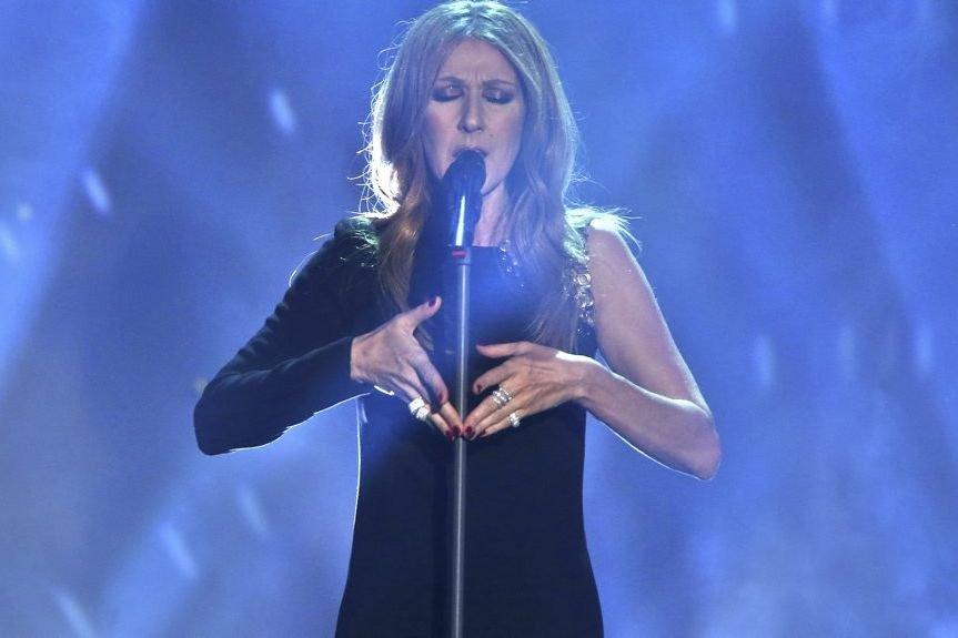 Céline Dion en spectacle à Halle en Allemagne... (Photo: AFP)