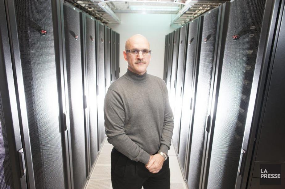 L'entreprise d'hébergement de données Kolotek (qui appartient à... (Photo André Pichette, La Presse)