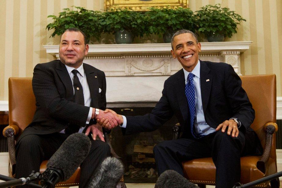 mohammed vi rencontre obama