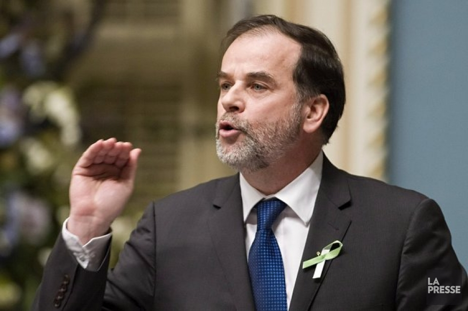 Le ministre Pierre Duchesne... (Photothèque La Presse)