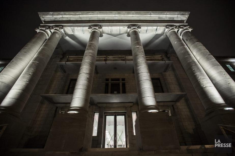Reconversion du bâtiment patrimonial de l'ancien Institut des... (Photo Olivier Pontbriand, La Presse)
