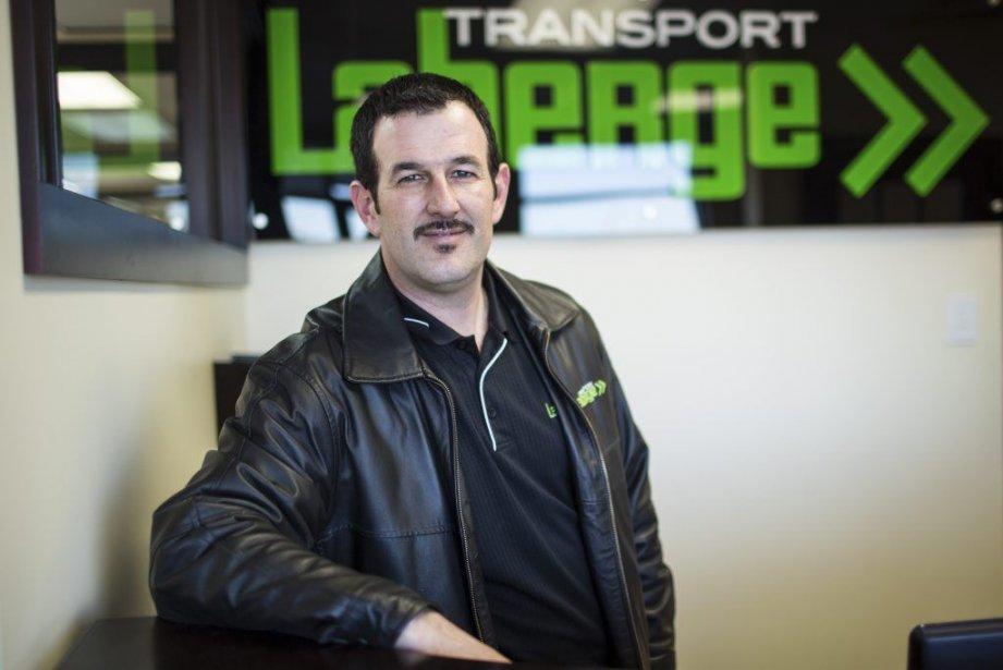 Glen Doucet, directeur des ventes chez Transport Laberge.... (PHOTO EDOUARD PLANTE-FRÉCHETTE, LA PRESSE)