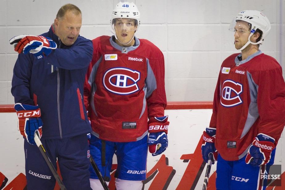 Gerard Gallant (à gauche) joue un rôle semblable... (Photo André Pichette, La Presse)
