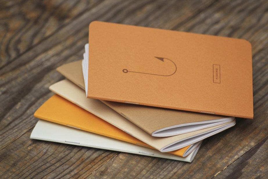 Cahiers de notes, 10$ chacun (Puce Pop).... (PHOTO FOURNIE PAR RECAP NOTEBOOK)