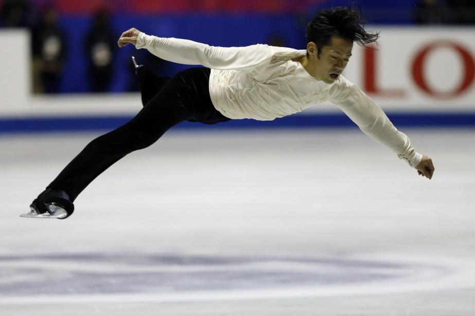 Daisuke Takahashi... (Photo Issei Kato, archives Reuters)