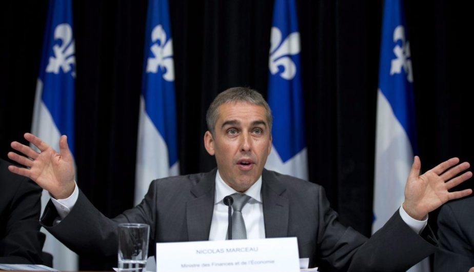 La réduction des revenus de l'État est principalement... (Photo Jacques Boissinot, La Presse canadienne)