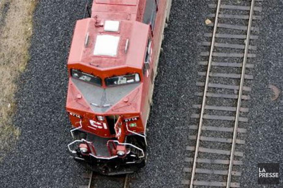 Le transporteur ferroviaire... (PHOTO MARTIN TREMBLAY, ARCHIVES LA PRESSE)