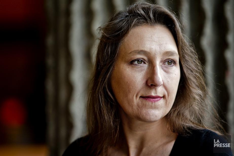 Marie Darrieussecq, lauréate du prix Médicis, était de... (Photo: Marco Campanozzi, La Presse)