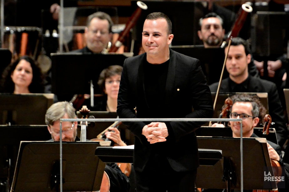 Le chef d'orchestre Yannick Nézet-Séguin.... (PHOTO BERNARD BRAULT, LA PRESSE)