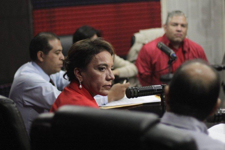 Xiomara Castro.... (Reuters)