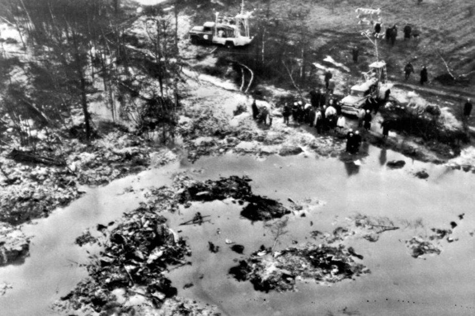 L'écrasement survenule 29 novembre 1963est considéré comme l'une... (Photo PC/AP)