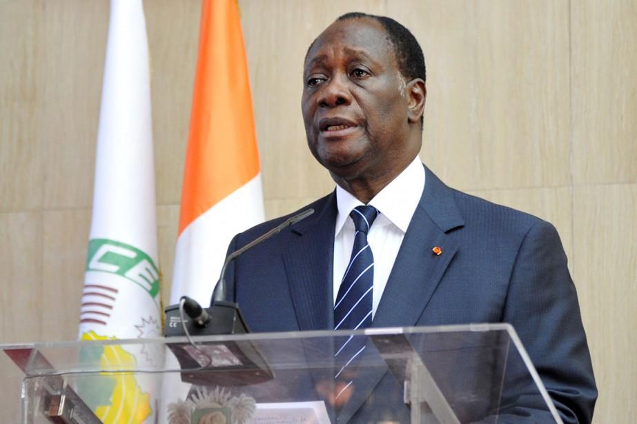 Alassane Ouattaran'a pas dit s'il comptait se représenter,... (PHTO SIA KAMBOU, ARCHIVES AGENCE FRANCE PRESSE)