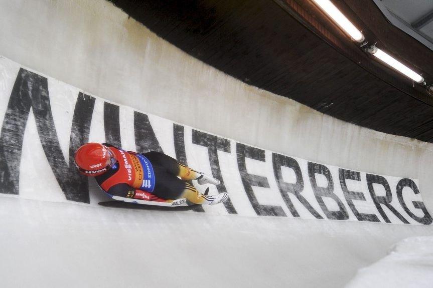 NatalieGeisenberger a remporté sa 19e victoire sur le... (PHOTO JAN-PHILIPP STROBEL, AFP)