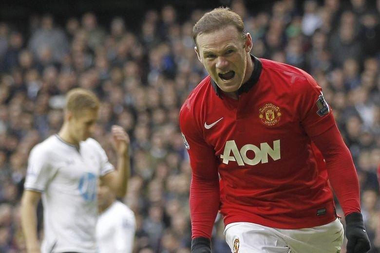 Wayne Rooney... (PHOTO IAN KINGTON, AGENCE FRANCE PRESSE)