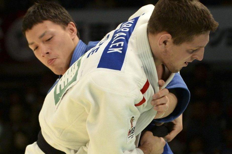 Le Tchèque Lukas Krpalek a remporté la finale... (PHOTO TOSHIFUMI KITAMURA, AFP)