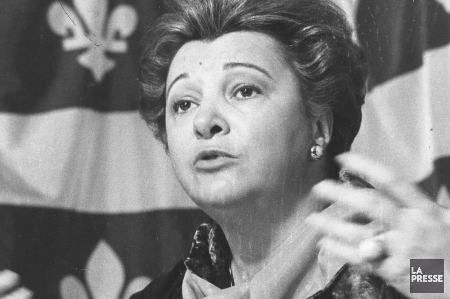 Lise Payette en 1976.... (Photo: Paul-Henri Talbot, archives La Presse)