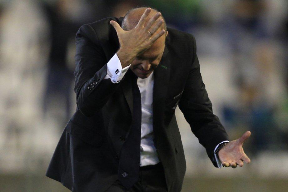 Pepe Mel a conduit le club dans l'élite... (Photo Marcelo del Pozo, Reuters)