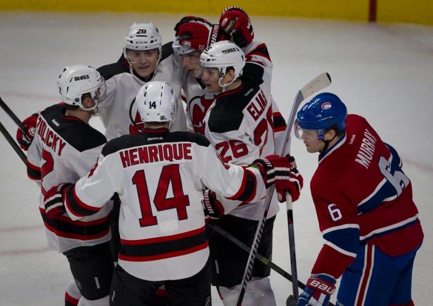 Steve Bernier a ouvert la marque pour les Devils en première période. (André Pichette, La Presse)