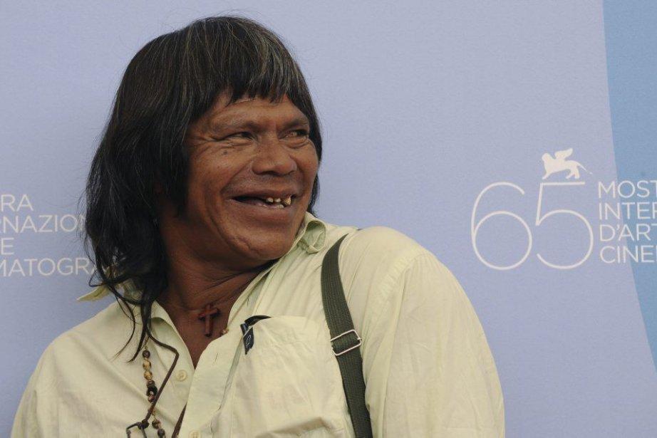 Ambrosio Vilhalva en 2008, au Festival international du... (Photo DAMIEN MEYER, AFP)