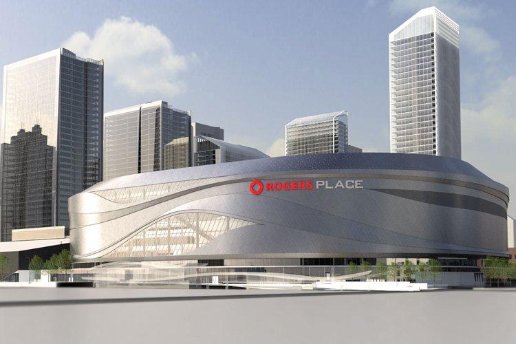 Un aperçu du futur aréna Rogers Place à... (Photo fournie par Rogers Communications)