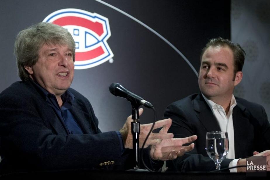 Alain Simard et Geoff Molson ont rencontré la... (Photo: Olivier Jean, La Presse)