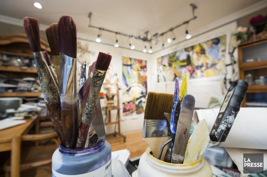 Ma maison mon atelier violaine ballivy design - Atelier artiste peintre ...