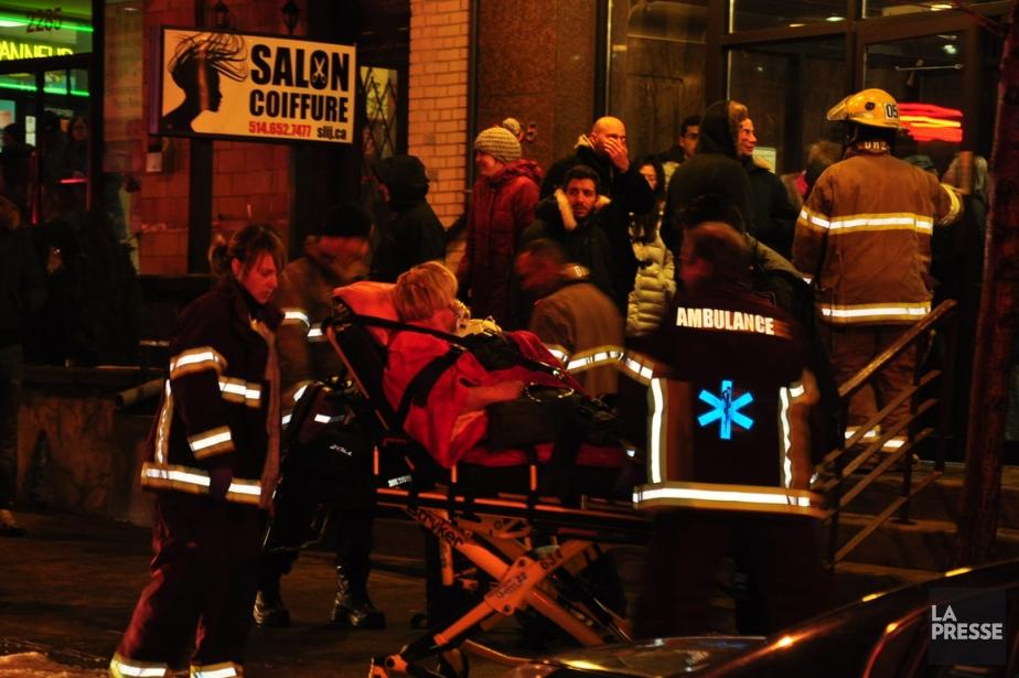 Cinq personnes ont été... (Photo Sylvain Ryan, collaboration spéciale)