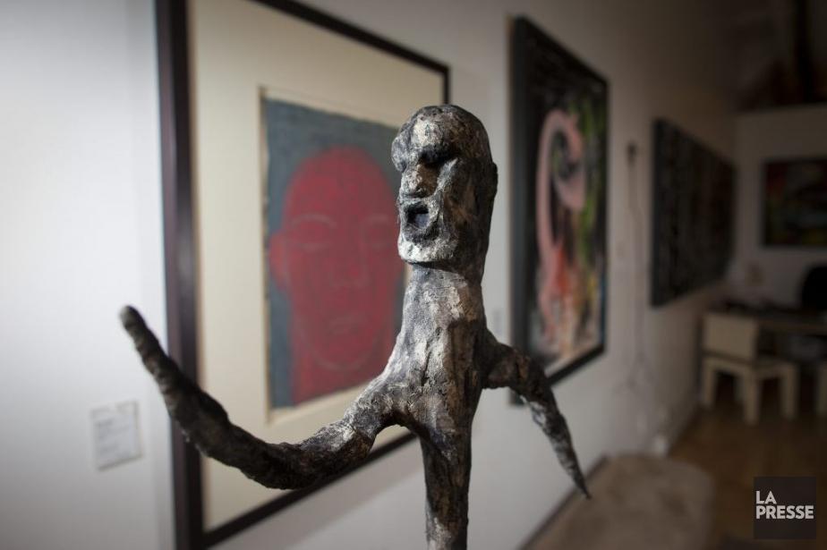 Sculpture d'Éric Godin.... (Photo André Pichette, La Presse)