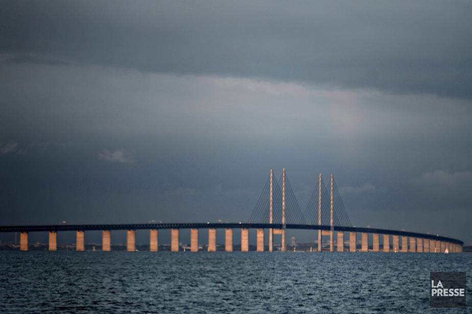 Vue du pont de l'architecte Poul Ove Jensen... (Photo Bernard Brault, La Presse)