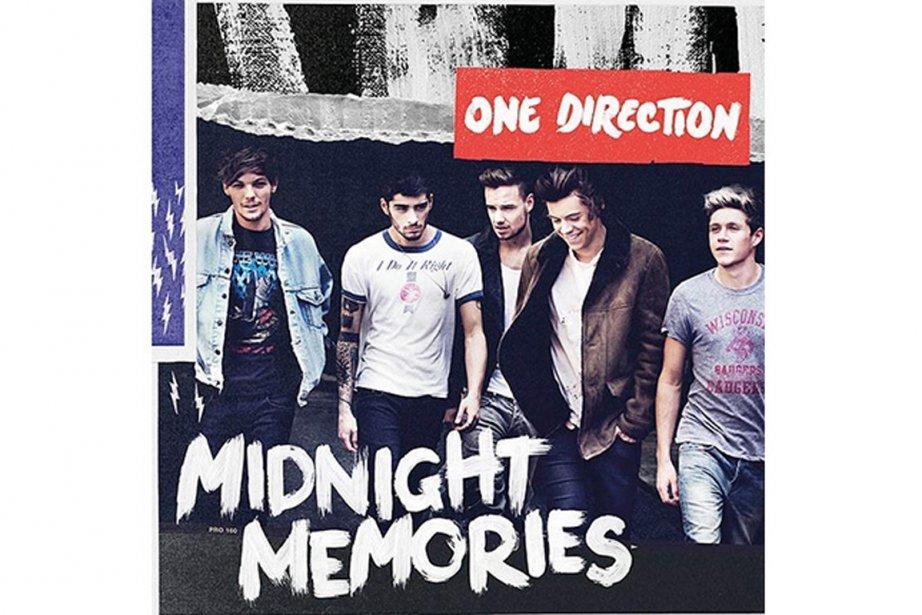 Le groupe One Directionfait son entrée en première...