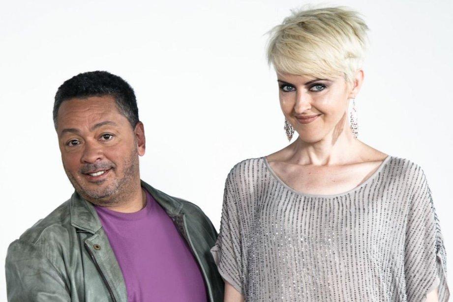 Normand Brathwaite et Geneviève Borne animent Belle et... (Photo fournie par Télé-Québec)