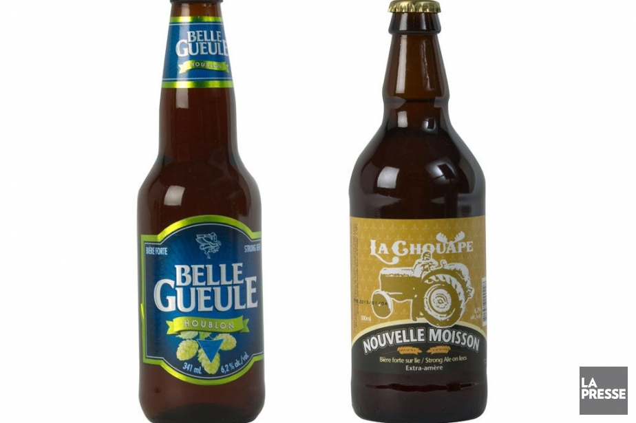 Les bières qui mettent en valeur le houblon... (Photo Olivier Jean, La Presse)