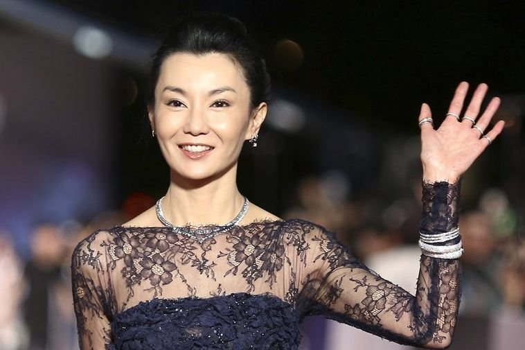Maggie Cheung... (PHOTO PATRICK LIN, REUTERS)