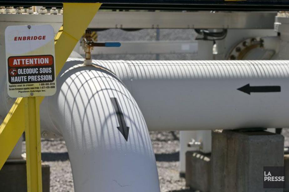 Enbridge propose d'inverser le flux de l'oléoduc 9B... (PHOTO ARCHIVES LA PRESSE)