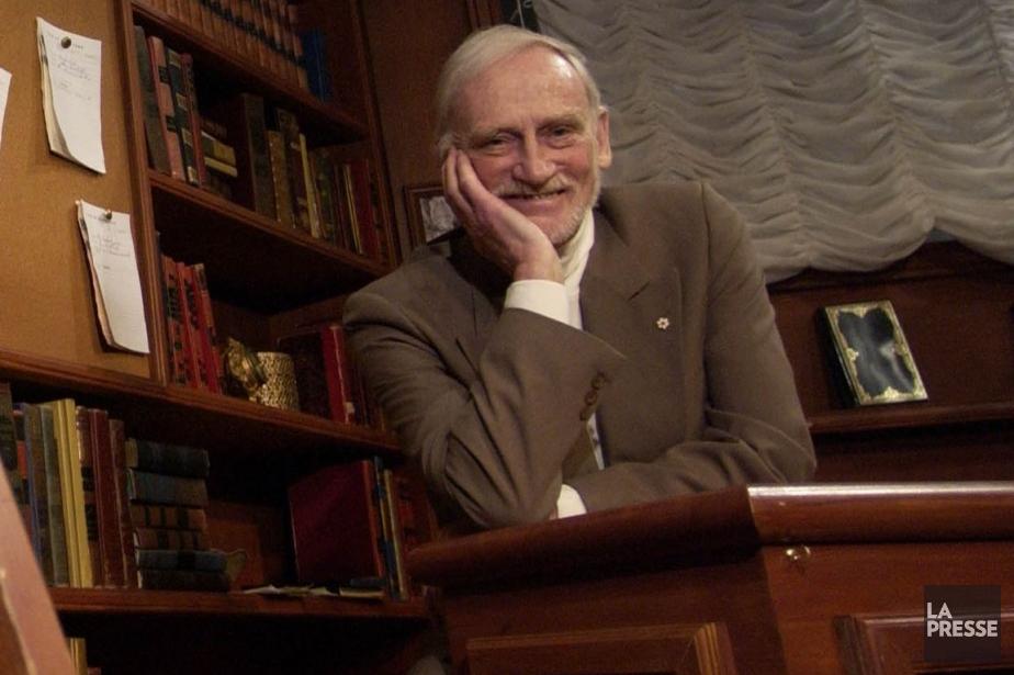 Jean-Louis Roux a créé leThéâtre du Nouveau Monde... (Photo archives La Presse)