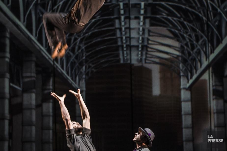 Le cirque Éloize, qui a conquis 450 villes... (Photo: Olivier Pontbriand, archives La Presse)