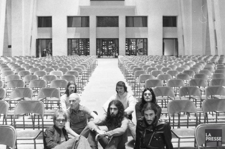 Le groupe Offenbach à l'oratoire Saint-Joseph en 1972.... (Photo: archives La Presse)