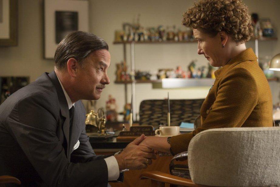 Walt Disney (Tom Hanks), et P.L. Travers (Emma... (Photo: fournie par Disney)