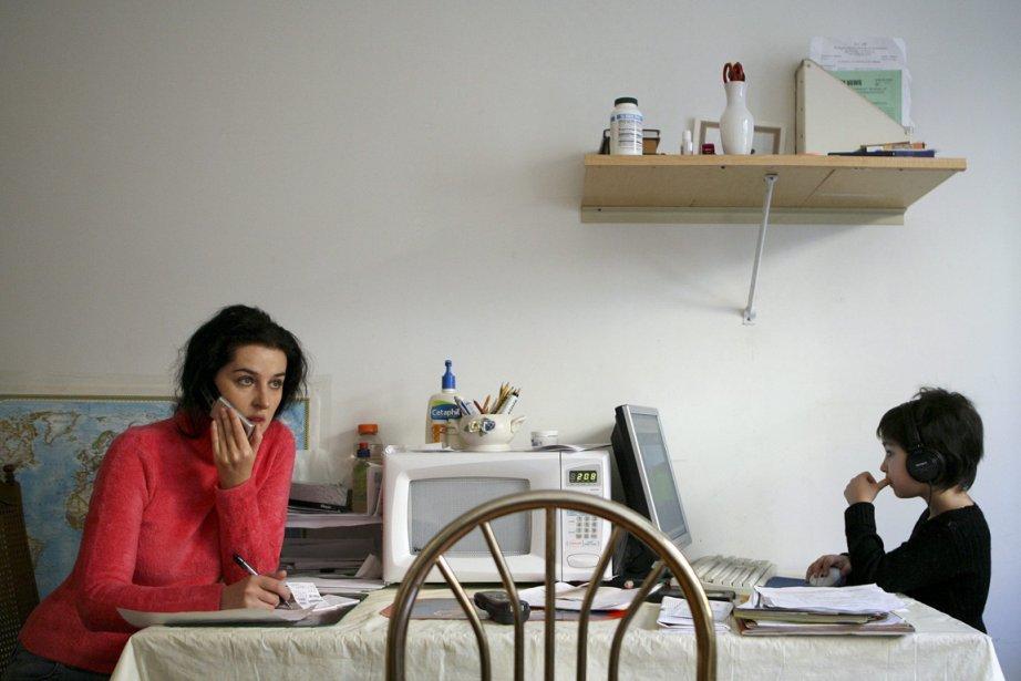 Le fait de travailler de la maison ne... (Photo Dima Gavrysh, ARCHIVES ASSOCIATED PRESS)