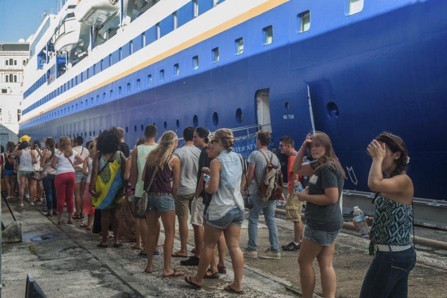 Parti en août de Londres, l'Explorer effectue à... (PHOTO YAMIL LAGE, AFP)