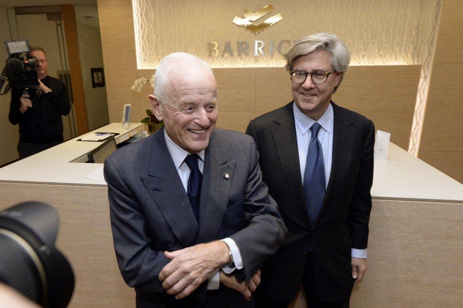 Peter Munk, président fondateur de Barrick Gold, va... (PHOTO AARON HARRIS, ARCHIVES REUTERS)