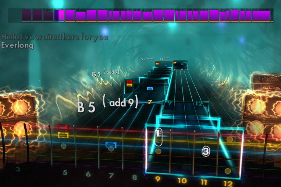 Rocksmith 2014 comprend plus de 80leçons de guitare... (Image: tirée de Rocksmith 2014)
