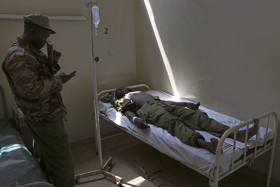 Plusieurs attaques attribuées au shebab ou revendiquées par... (Photo BONIFACE MWANGI, AFP)