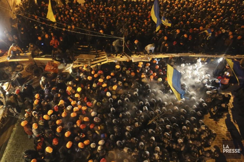 La police a confirmé avoir interpellé plusieurs manifestants... (Photo: Reuters)