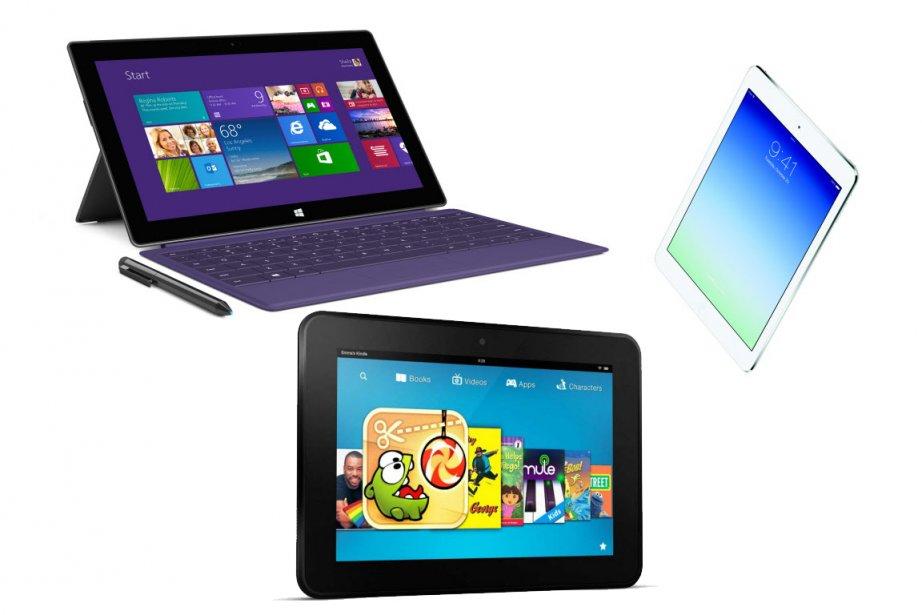 Les ventes d'ordinateurs ne cessent de chuter et les tablettes numériques en...