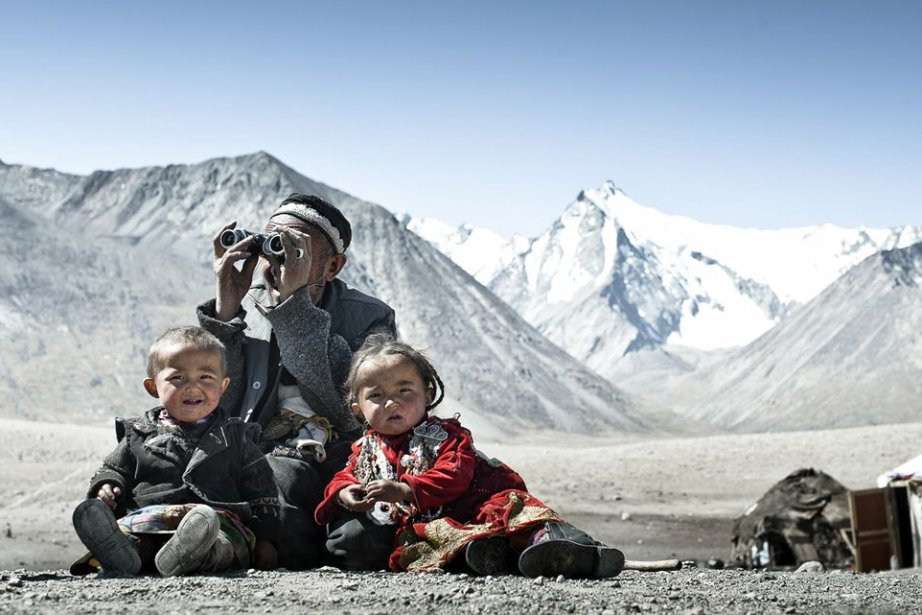 Sur les plateaux afghans à 5000 m d'altitude... (PHOTO FOURNIE PAR L'ARTISTE)