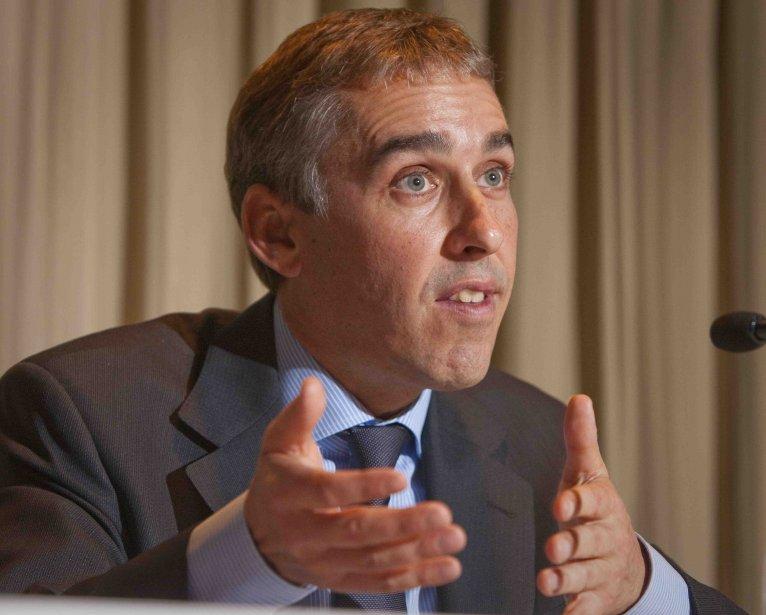 Nicolas Marceau, ministre des Finances du Québec.... ((Archives))