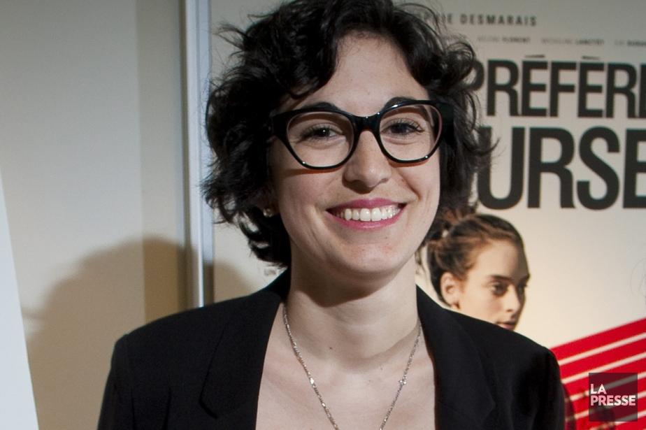 Fanny-Laure Malo, productrice du court métrage Toutes des... (Photo: André Pichette, archives La Presse)