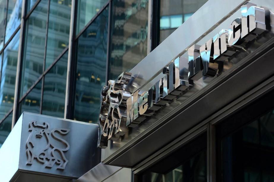 Entre 2009 et 2012, la banque Merrill Lynch... (Photo Emmanuel Dunand, AFP)